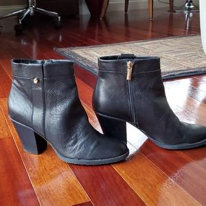 Bandalino Leather Ankle Boots